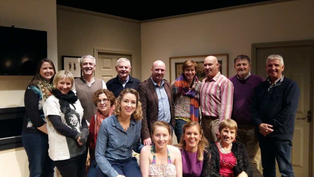 The cast and crew of Skibbereen Theatre Society's production of 'Bookworms' by Bernard Farrell